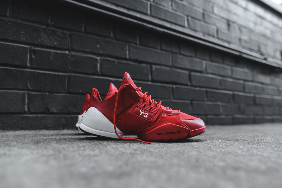 Y-3 WMNS Kanja - Scarlet Red / White
