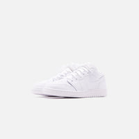 Nike GS Air Jordan 1 Low - White Thumbnail 3