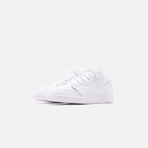 Nike GS Air Jordan 1 Low - White Image 3