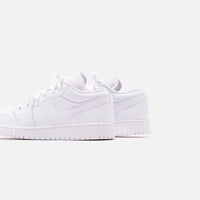 Nike GS Air Jordan 1 Low - White Thumbnail 5