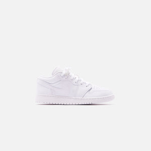 Nike GS Air Jordan 1 Low - White Image 1