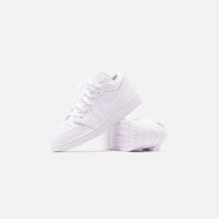 Nike GS Air Jordan 1 Low - White Thumbnail 2