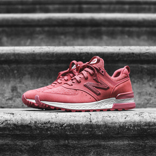 New Balance WMNS 574 - Copper Rose / White