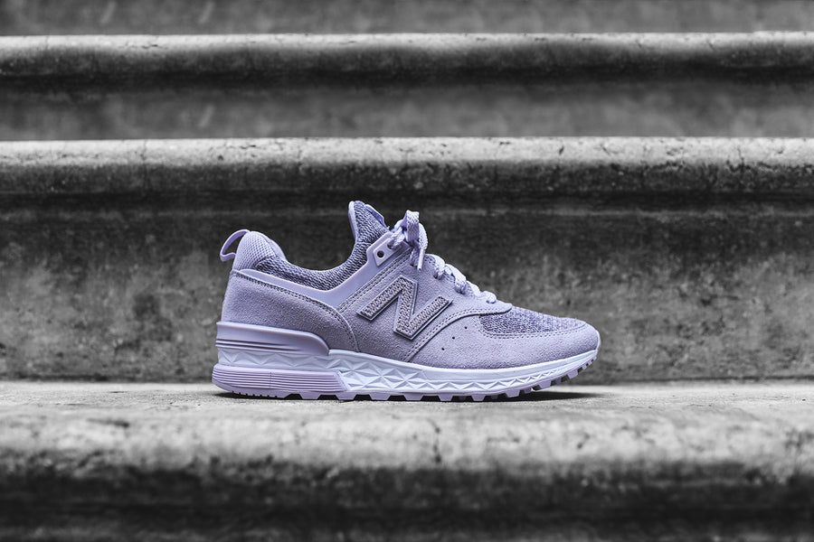 New Balance WMNS 574 - Thistle / White