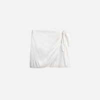 We Wore What Chloe Mini Skirt - White Thumbnail 1