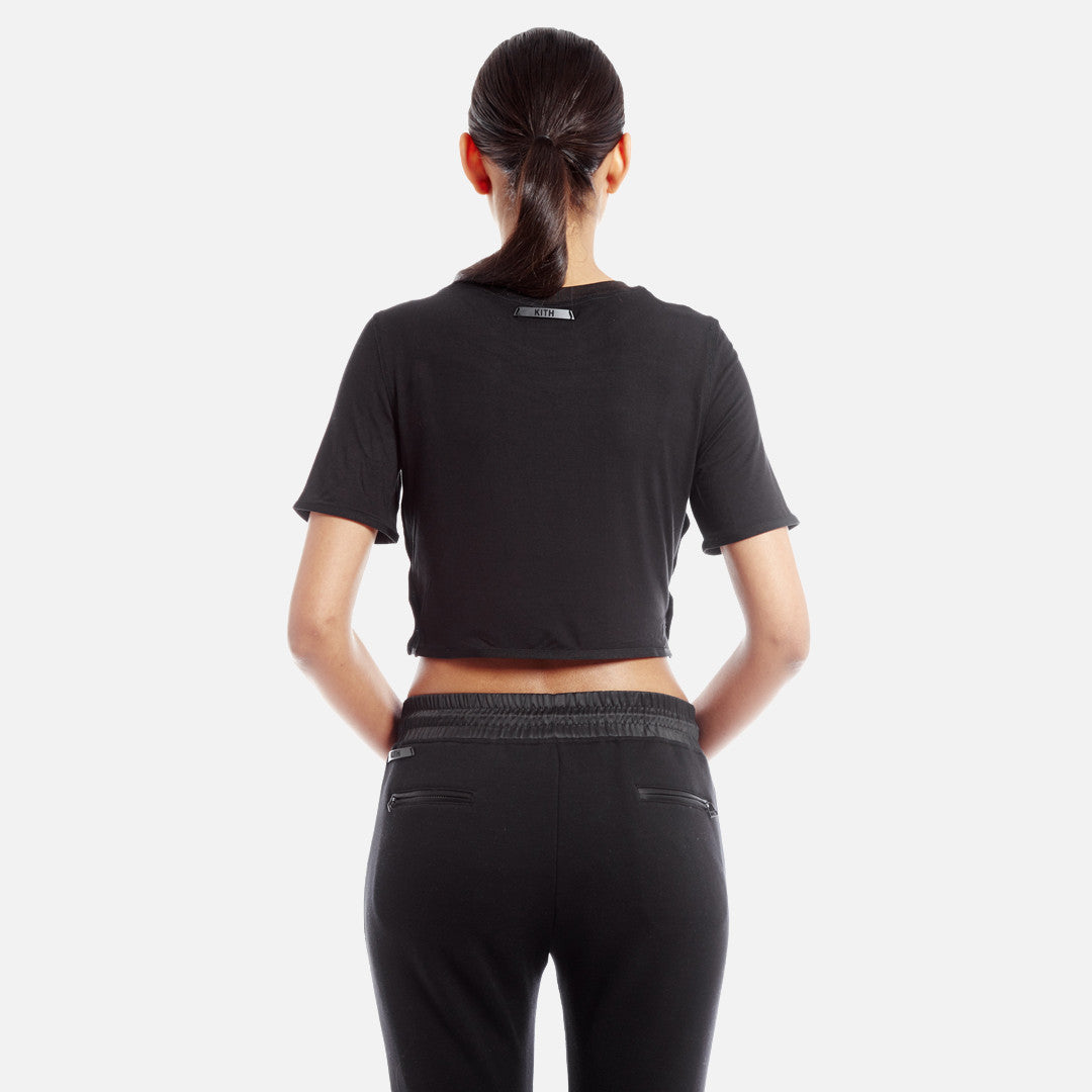 Kith Liv Crop Top - Black