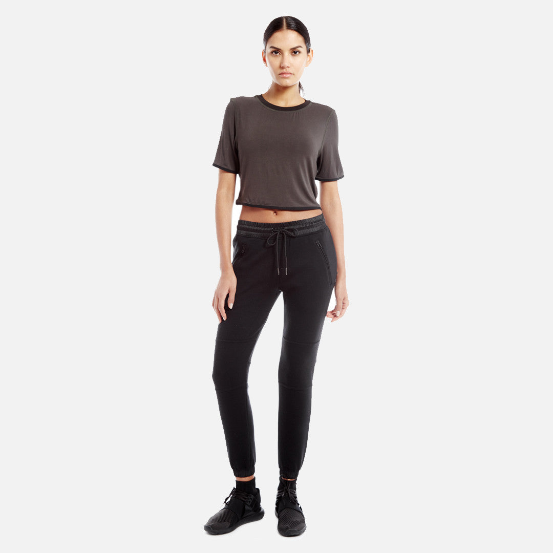Kith Liv Crop Top - Olive