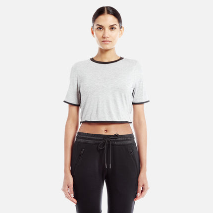 Kith Liv Crop Top - Grey