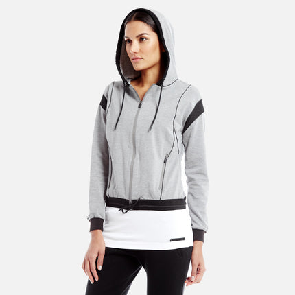 Kith Skylar Hoody - Heather Grey