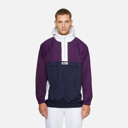 Kith Walker Anorak - Purple / Navy