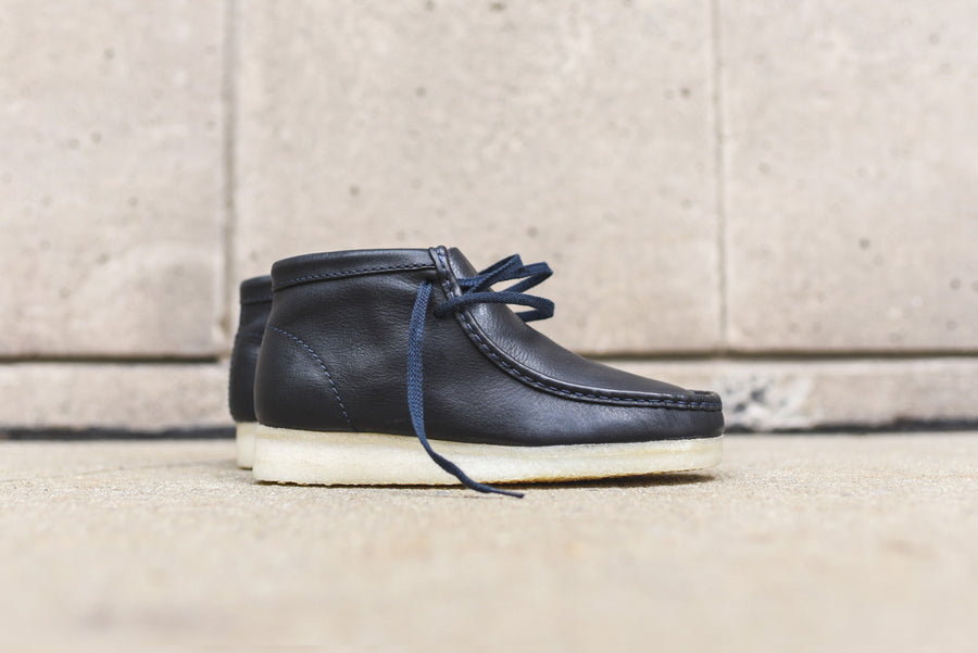 Clarks Wallabee Boot - Navy