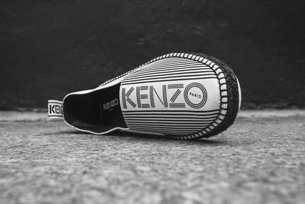 Kenzo Stanley Slip-On - White / Black