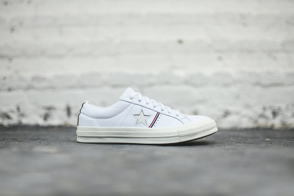 Converse One Star Ox - White / Red / Blue