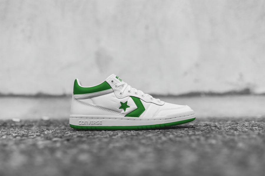 Converse Fastbreak Mid - White / Green