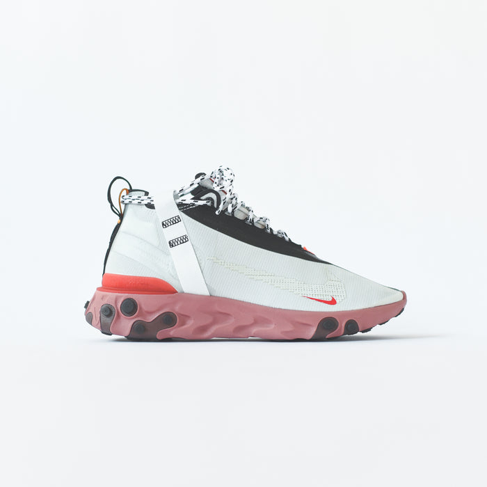 Nike React Runner Mid WR ISPA - Summit White / Off-White / Crimson