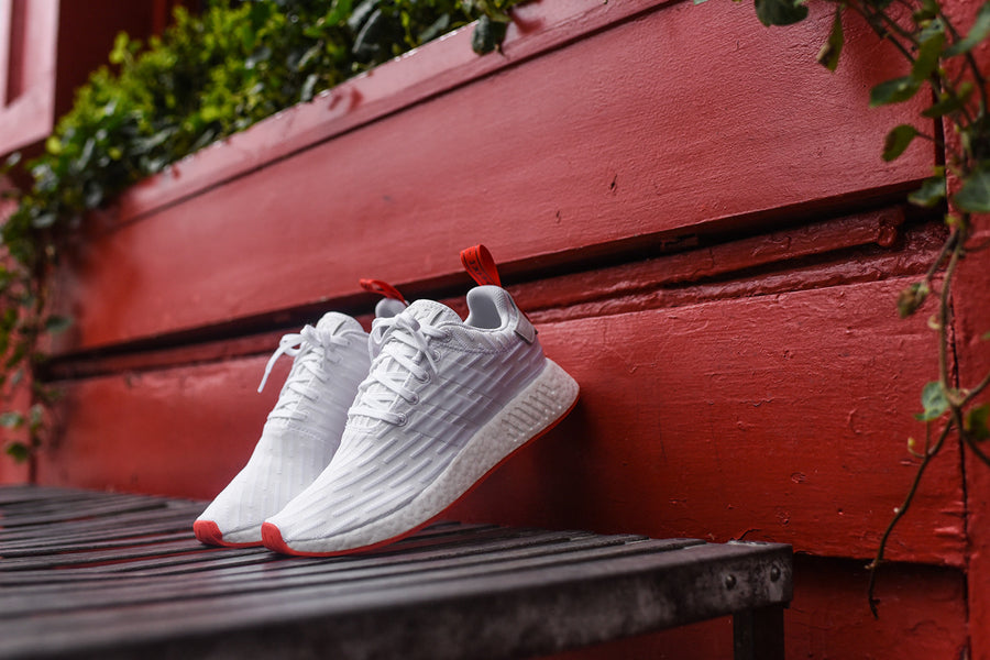 adidas Originals NMD_R2 PK - White / Red