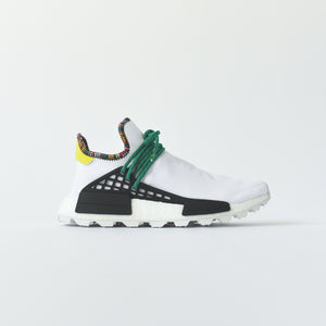 90f53d219e754 adidas Originals x Pharrell Williams Solar HU NMD - White   Green – Kith