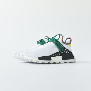 timeless design 4fb93 177b8 adidas Originals x Pharrell Williams Solar HU NMD - White ...