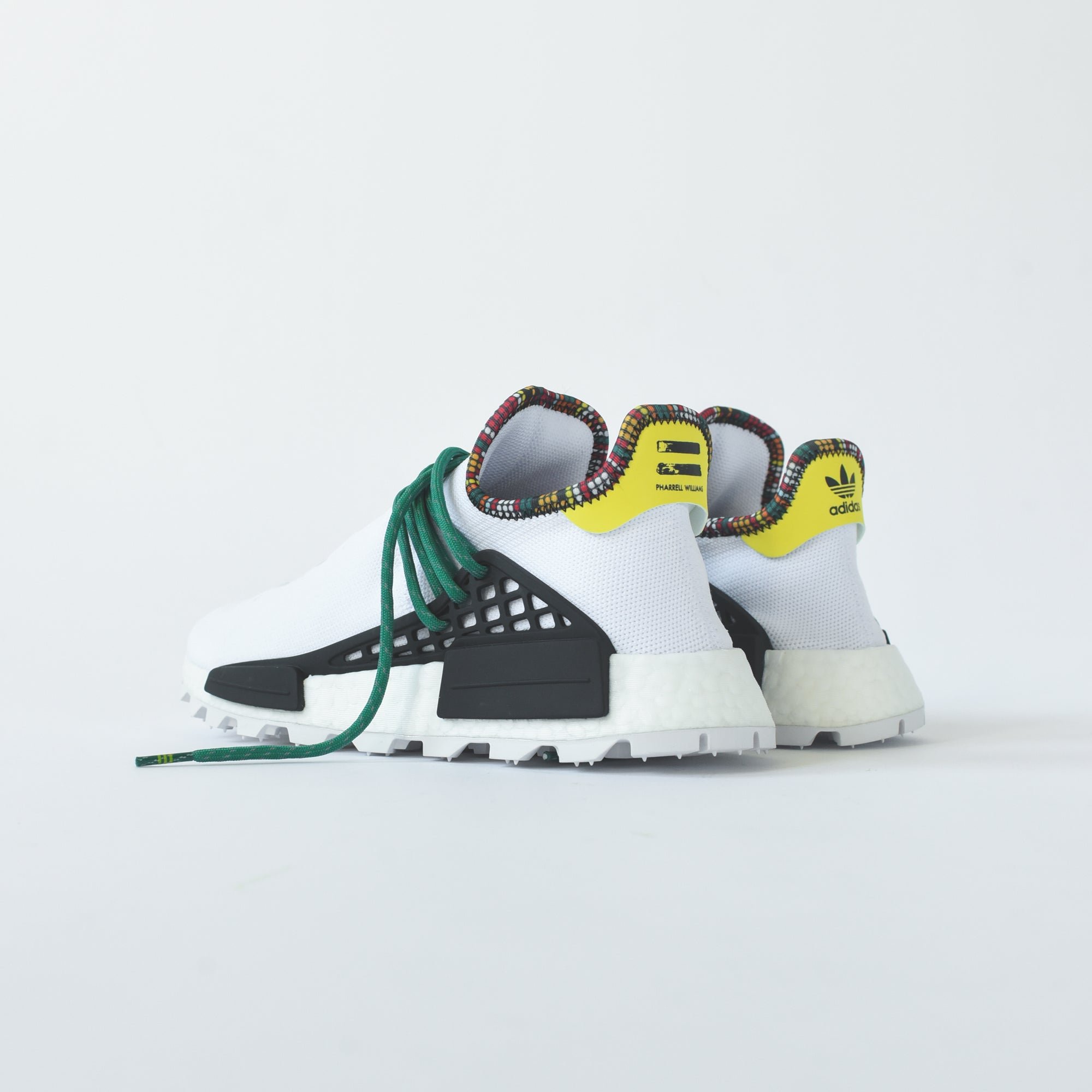 adidas Originals x Pharrell Williams Solar HU NMD - White / Green