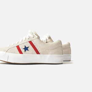 Converse Academy Ox - White / Enamel Red / Blue Image 5