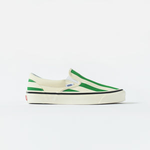 Vans Classic Slip-On 98 DX Anaheim Factory - OG White / Green Image 1