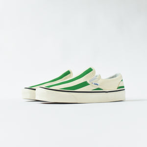 Vans Classic Slip-On 98 DX Anaheim Factory - OG White / Green Image 3