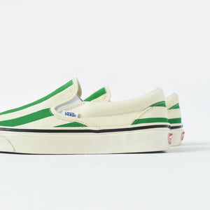 Vans Classic Slip-On 98 DX Anaheim Factory - OG White / Green Image 5