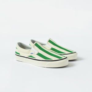 Vans Classic Slip-On 98 DX Anaheim Factory - OG White / Green Image 2