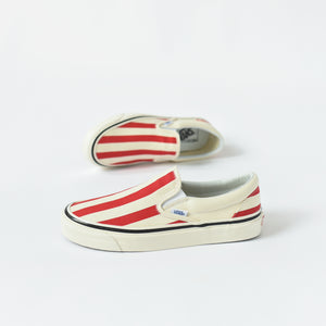 Vans Classic Slip-On 98 DX Anaheim Factory - OG White / Red