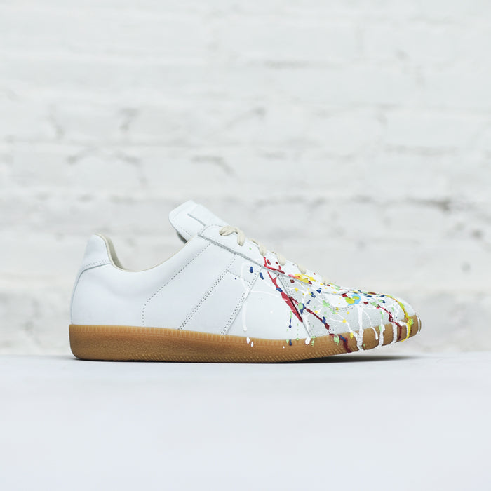 Margiela Mix Painter Replica Sneaker - White