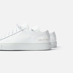 Common Projects WMNS Original Achilles Low - White Image 5