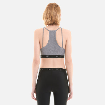 Kith Mina Sport Bra Top - Heather Grey