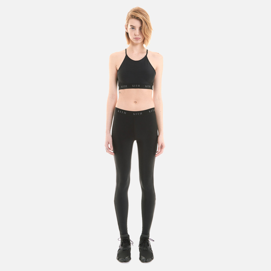 Kith Mina Sport Bra Top - Black
