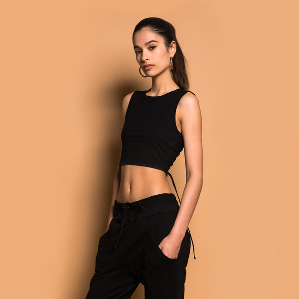 Kith London Cropped Top - Black