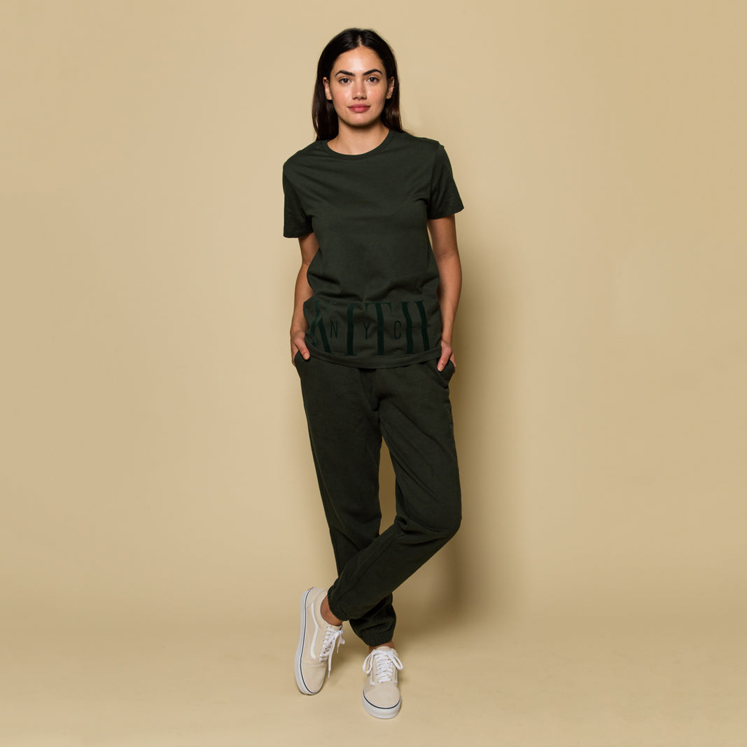 Kith Great Jones Theo Tee - Botanical Green