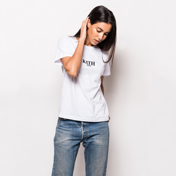 Kith NYC Logo Tee - Bright White