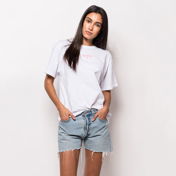 Kith Self Love Oversize Tee - White