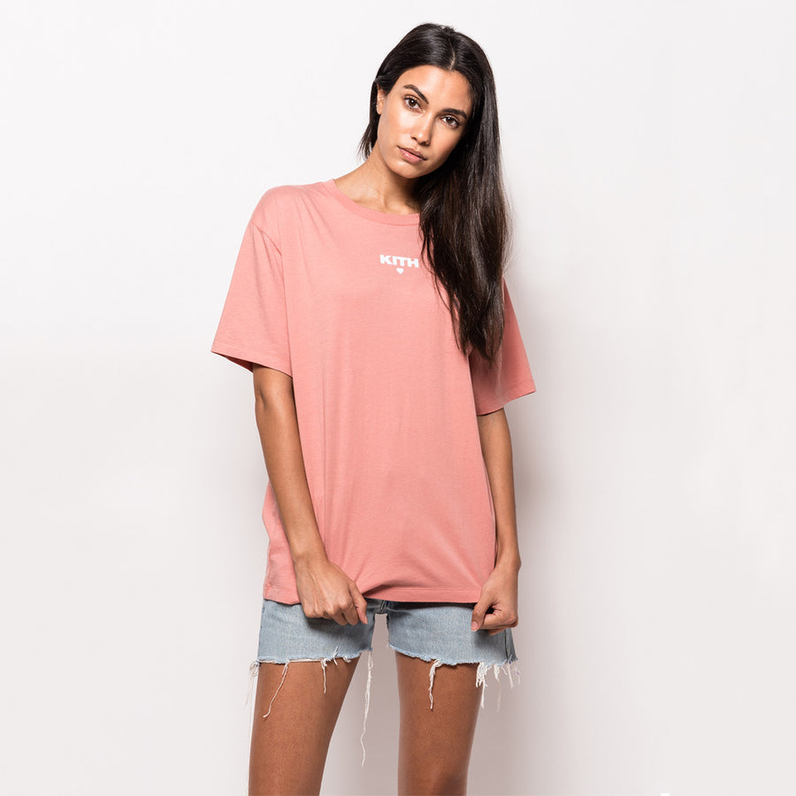 Kith Self Love Oversize Tee - Chateau Rose