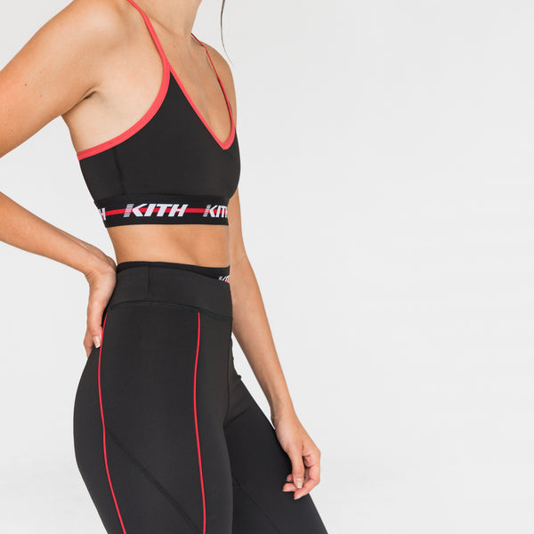 Kith Sport Christy High Waisted Leggings - Black
