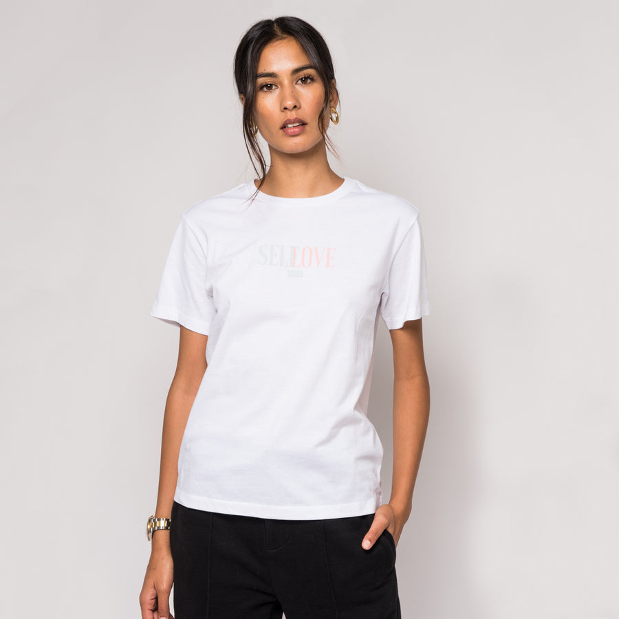 Kith Self Love Tee - White