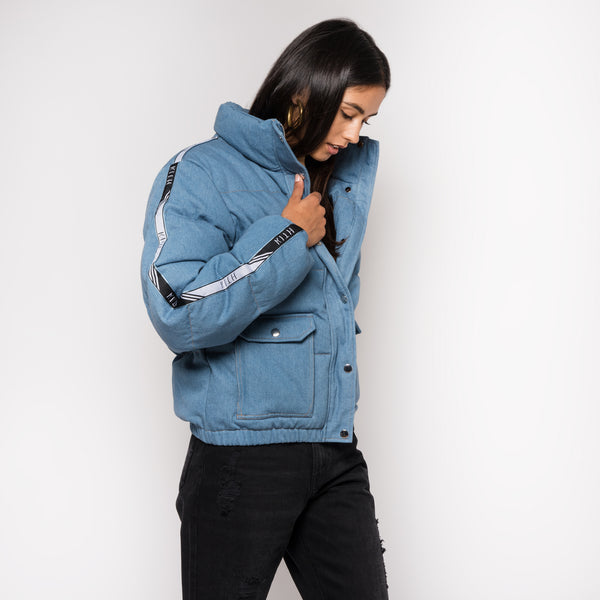 Kith Mara Puffer Coat - Denim
