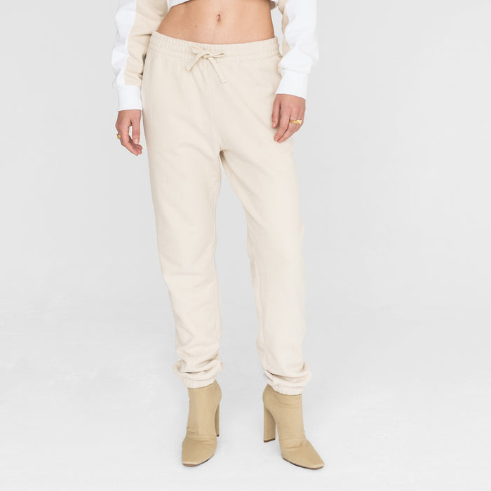 Kith Women Cleo Combo Sweatpant - Cream