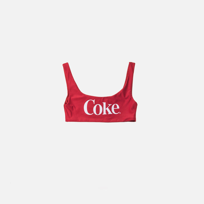 Kith Women x Coca-Cola Bikini Top - Red
