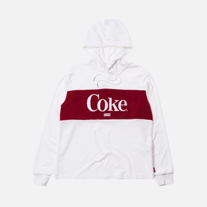 Kith Women x Coca-Cola Terry Hoodie - White