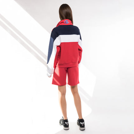 Kith x Champion Kate Reverse Weave Basketball Short - Red