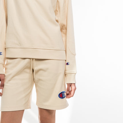 Kith x Champion Kate Reverse Weave Basketball Short - Almond Milk