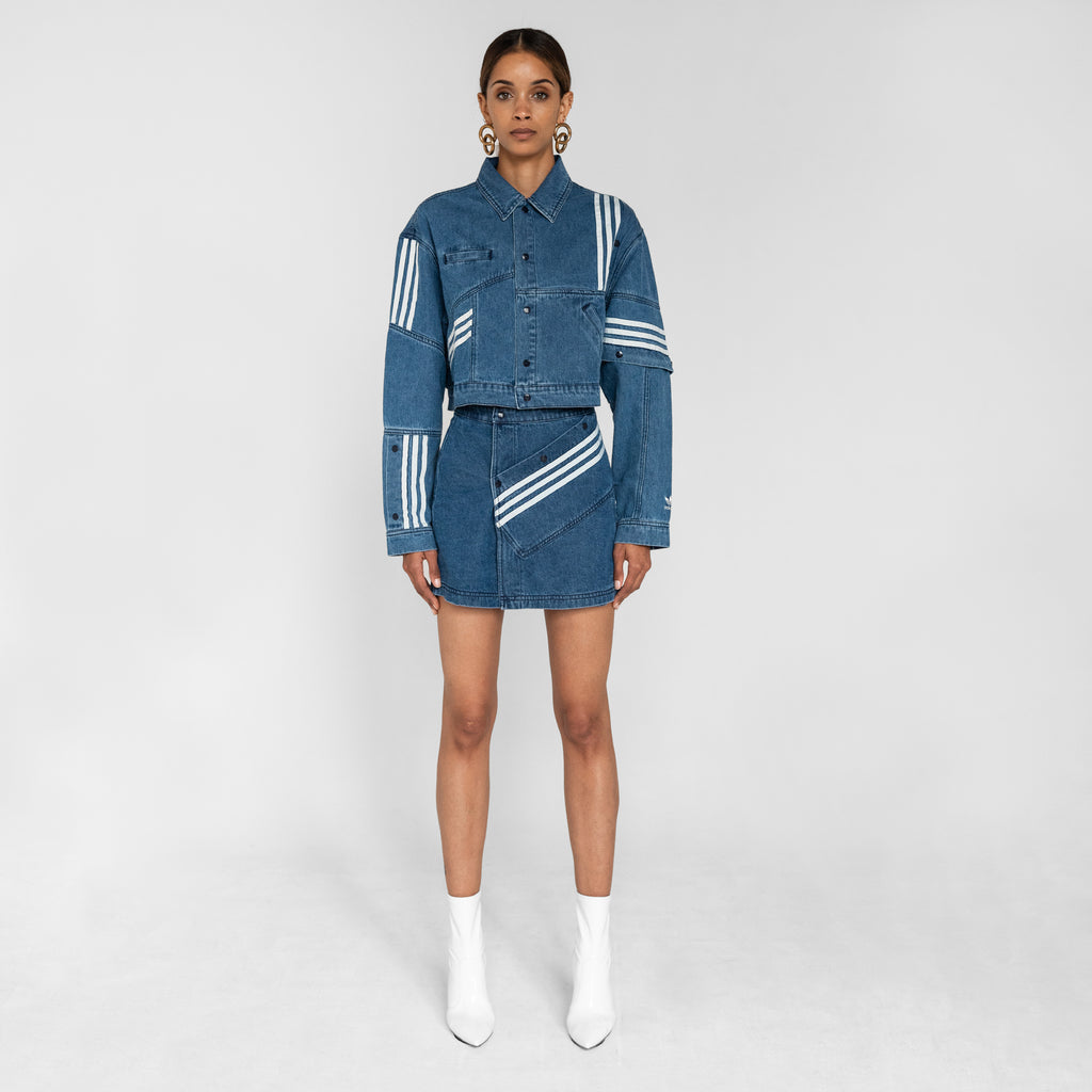 31a72a831c adidas by Daniëlle Cathari Denim Jacket - Washed Blue – Kith
