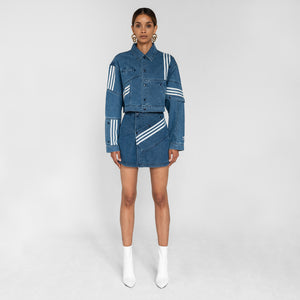 adidas by Daniëlle Cathari Denim Jacket - Washed Blue Image 1