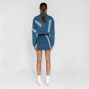 adidas by Daniëlle Cathari Denim Jacket - Washed Blue Image 2