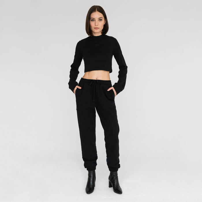 Kith Women Cleo Combo Sweatpant - Black